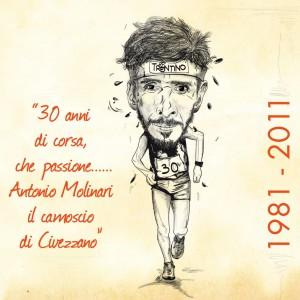 ANTONIO MOLINARI…30 ANNI DI CORSA DI UN CAMPIONE