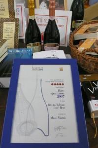 Un premio per noi… da Sparkle – Bere Spumante 2012