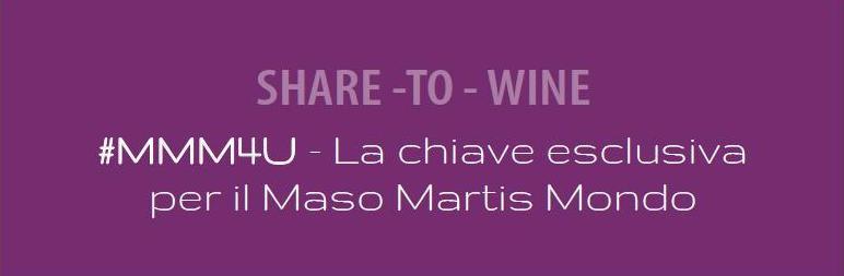 #MMM4U – Il sesto senso della degustazione del vino: la condivisione
