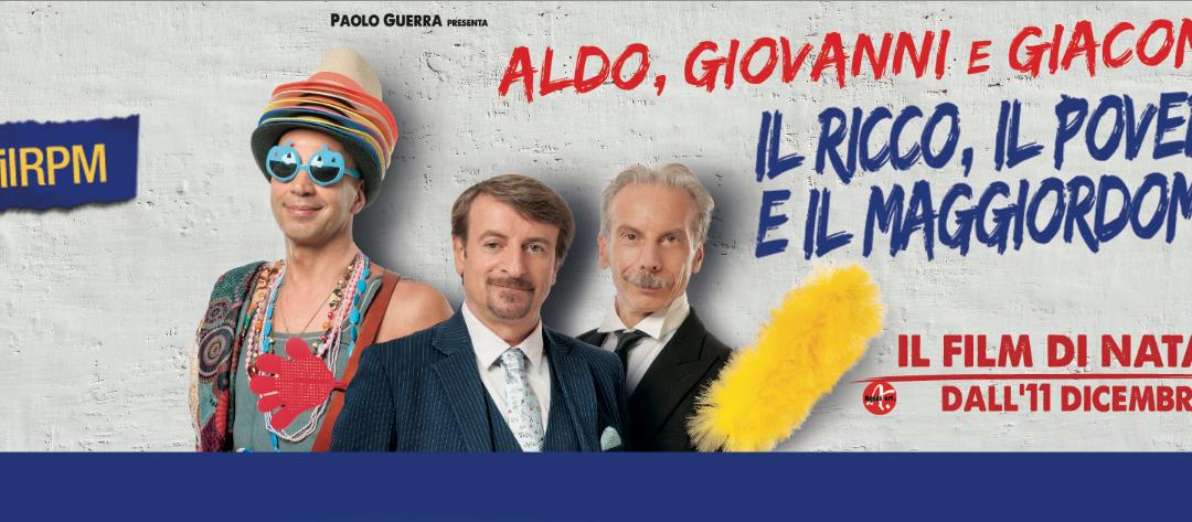 Maso Martis al cinema: il nuovo film di Natale di Aldo Giovanni e Giacomo