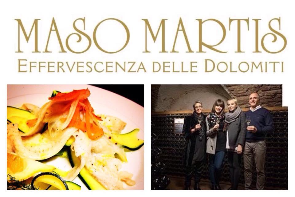 Agenda di Maggio: Eventi e Degustazione trentodoc e Maso Martis