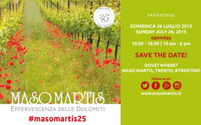 #masomartis25 scopriamo i 5 sensi della festa