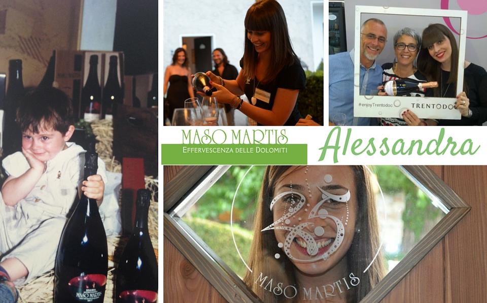 Dai primi passi in cantina, alla tesi su Maso Martis…vi racconto la storia di Alessandra