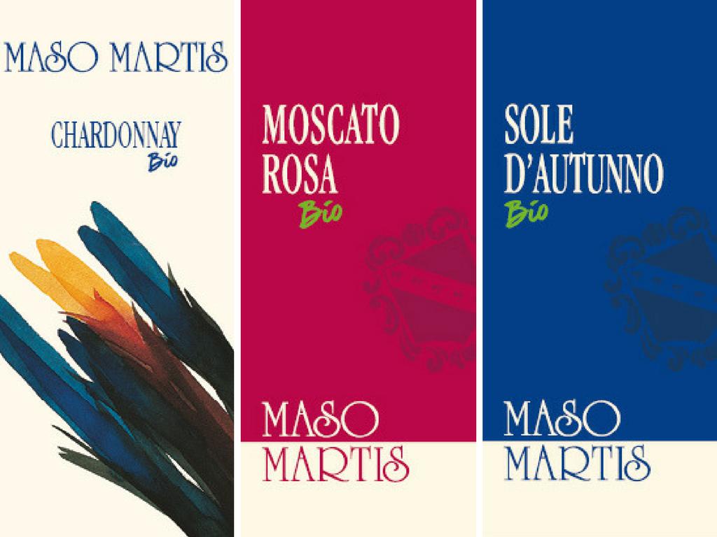 maso martis - trentodoc - etichette bio - vini fermi - organic