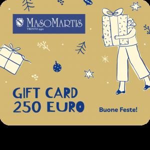 Maso Martis Gift Card 250